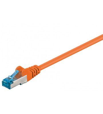 CAT6a S/FTP (PIMF) 0,50m orange