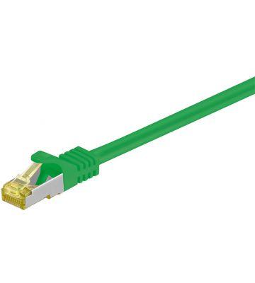 Cat7 SFTP/PIMF 7,50m green
