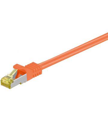 Cat7 SFTP/PIMF 0,25m orange