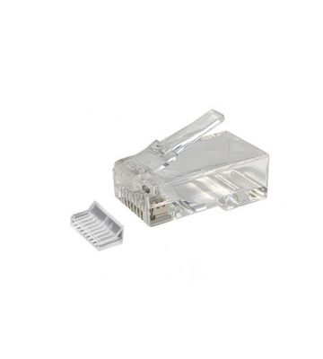 CAT6 RJ45 connector with load bar - unshielded - for stranded cable