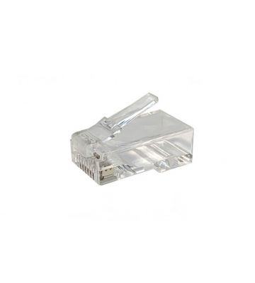 CAT6a connector RJ45  unshielded - for solid cable