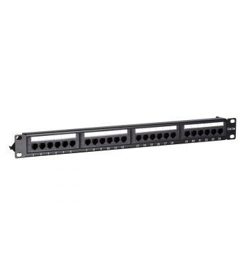 CAT5e UTP patch panel - 24 ports