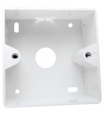 Frame surface-mounted box, white