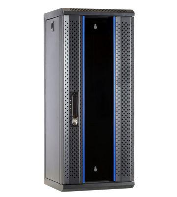 10 inch 15U server rack with glass door 312x310x752mm (WxDxH)