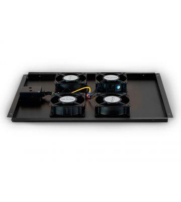 Fan set with 4 fans suitable for 800mm deep server racks