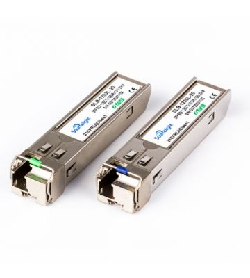 SFP Plus 10 gigabit  (mini-GBIC) LC module single mode simplex TX: 1270nm RX: 1330nm 20km