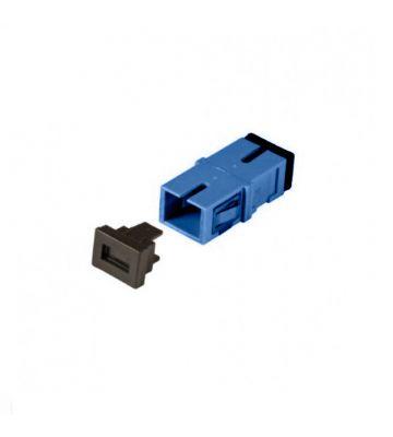 Singlemode keystone coupling SC-SC simplex blue