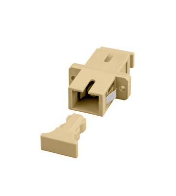 Multimode coupler SC-SC simplex beige