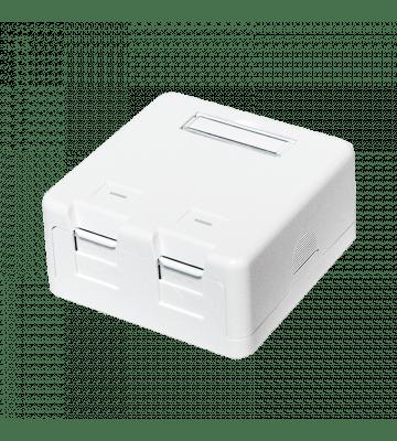 Keystone media box 2 ports