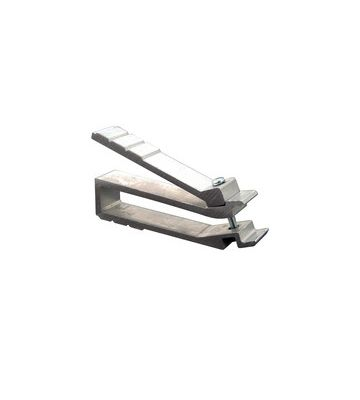 Cage nut-super tool for inserting cage nuts in 19 inch profiles