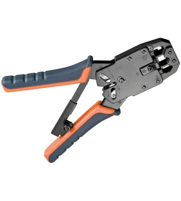 Professional crimping pliers, metal, suitable for RJ45 and RJ11
