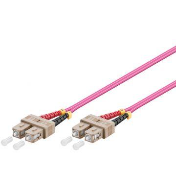 Fibre optic cable SC-SC OM4 10m