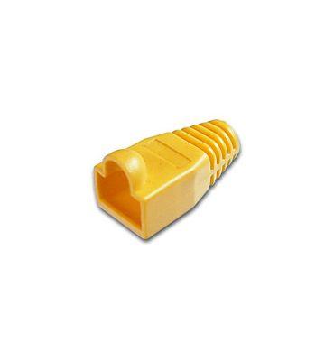 RJ45 plug boot yellow