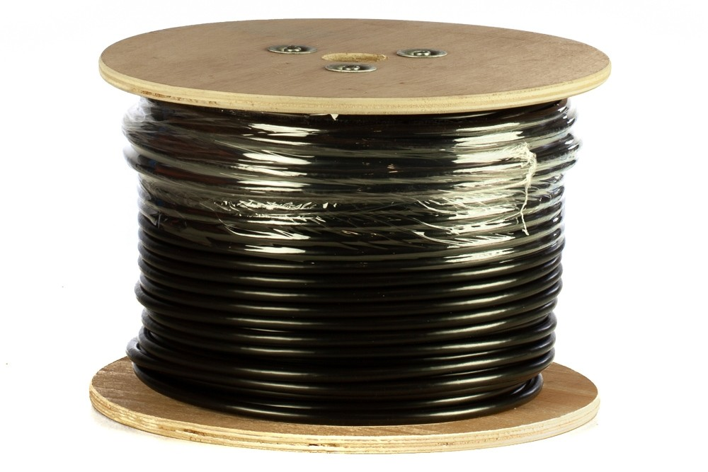 Afbeelding van DANICOM CAT6 FTP 100m outdoor cable on a reel - solid - PE (Fca)