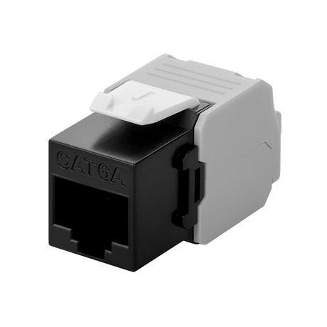 Afbeelding van CAT6a UTP Keystone Connector - LSA - black