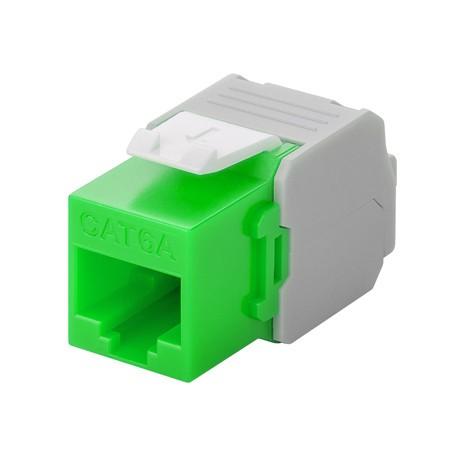 Afbeelding van CAT6a UTP Keystone Connector - LSA - green