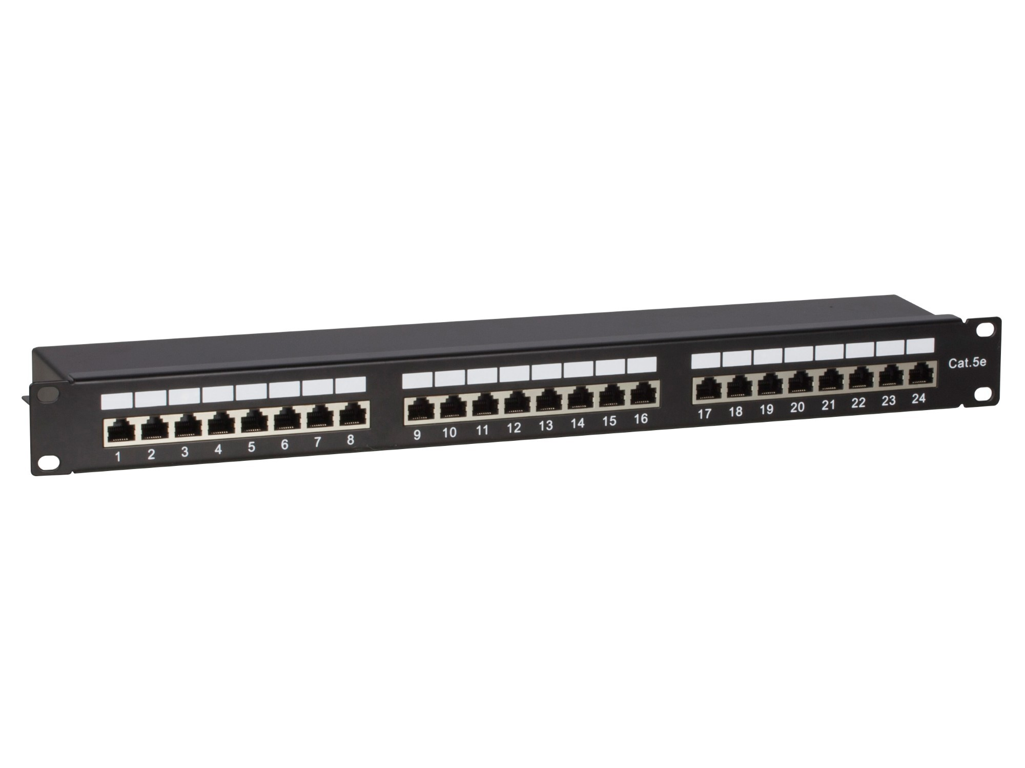 Afbeelding van CAT5e FTP patch panel - 24 ports