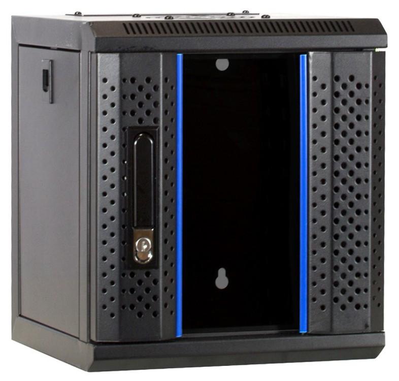 Afbeelding van 10 inch 6U server cabinet with glass door 312x310x352mm (WxDxH)