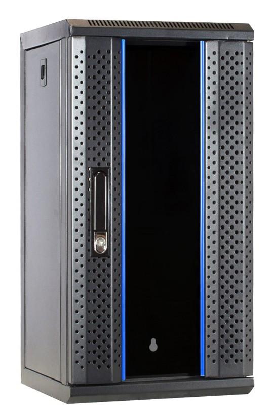 Afbeelding van 10 inch 12U server cabinet with glass door 312x310x618mm (WxDxH)