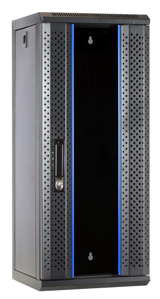 Afbeelding van 10 inch 15U server cabinet with glass door 312x310x752mm (WxDxH)