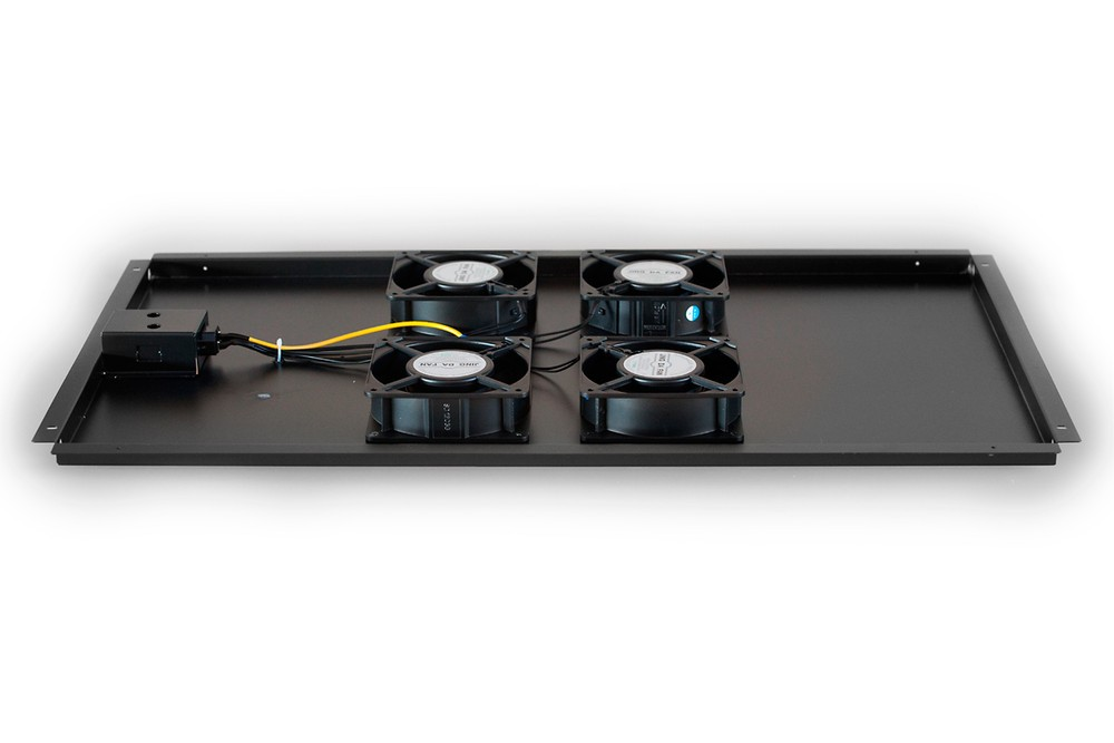 Afbeelding van Fan set with 4 fans suitable for 1000mm deep server cabinets