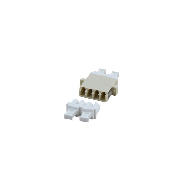 Afbeelding van Multimode coupler 4-way LC-LC quad beige