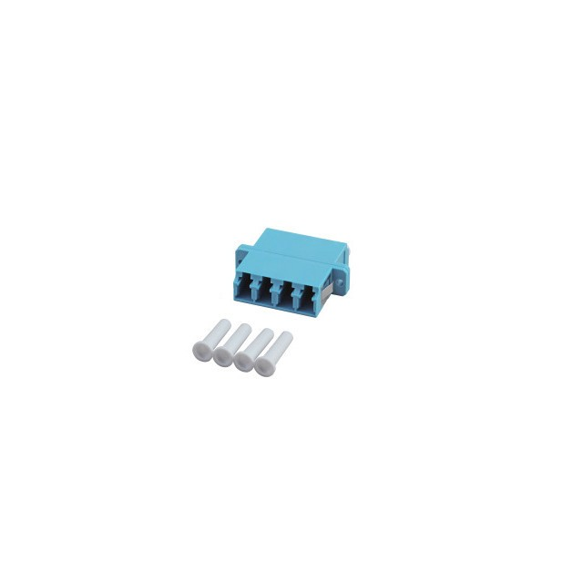 Afbeelding van Multimode coupler 4-way LC-LC quad turquoise