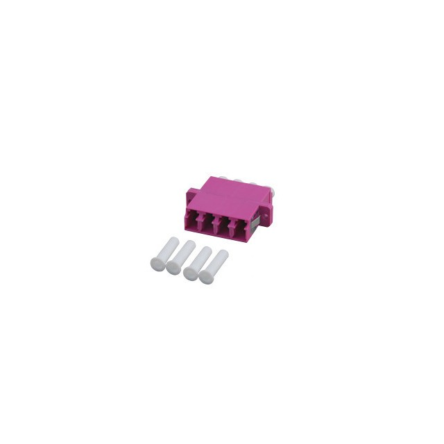 Afbeelding van Multimode coupler 4-way LC-LC quad purple