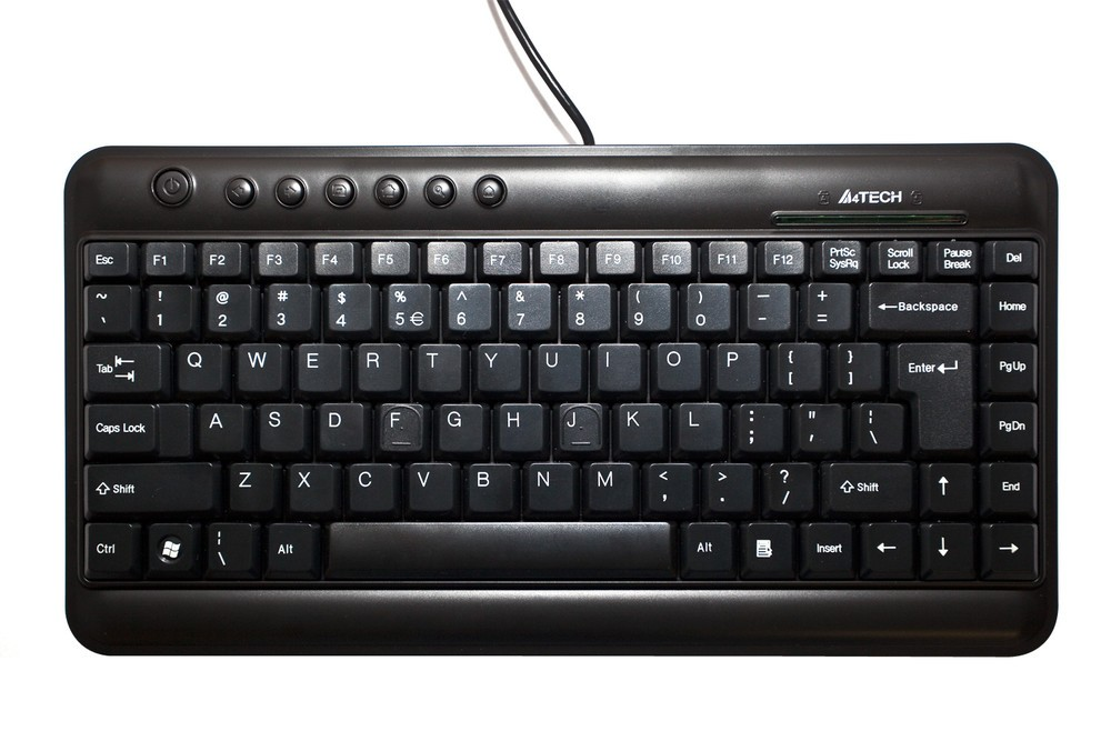 Afbeelding van Mini keyboard USB, USA/Nordic-layout, for 19 inch cabinets