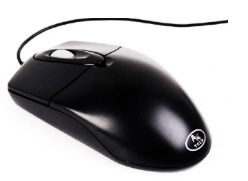 Afbeelding van Optical mouse (flat design)