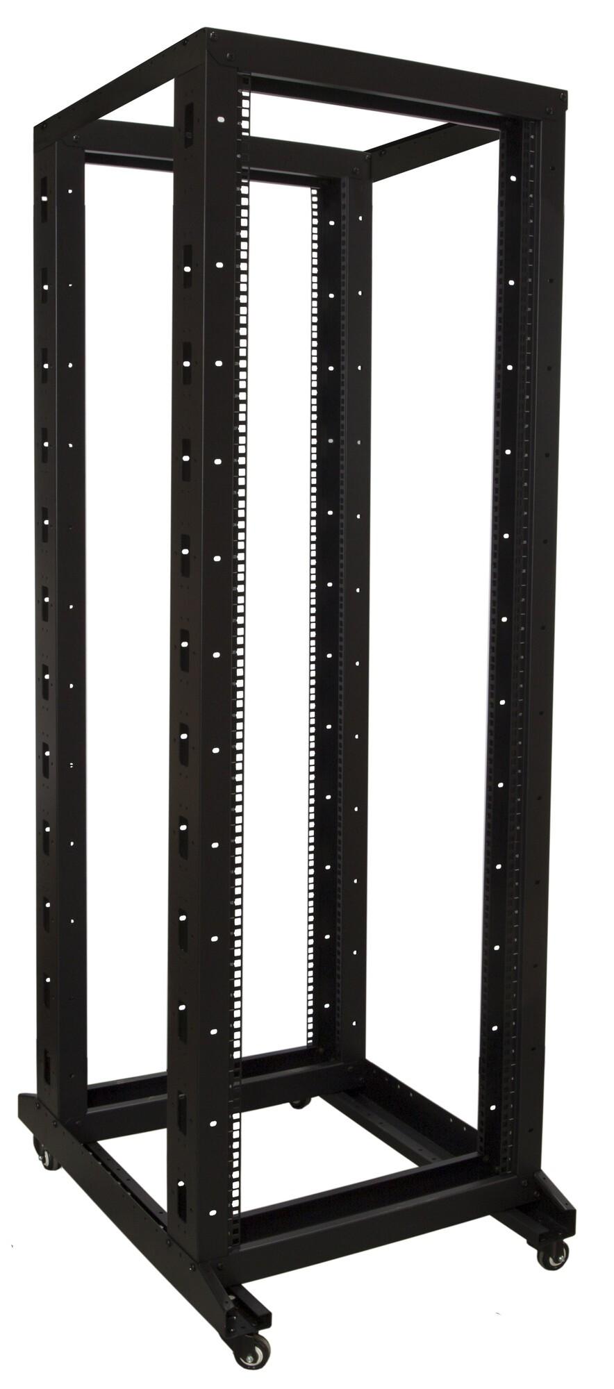 Afbeelding van 37U relay rack on castors 600x800x1800mm
