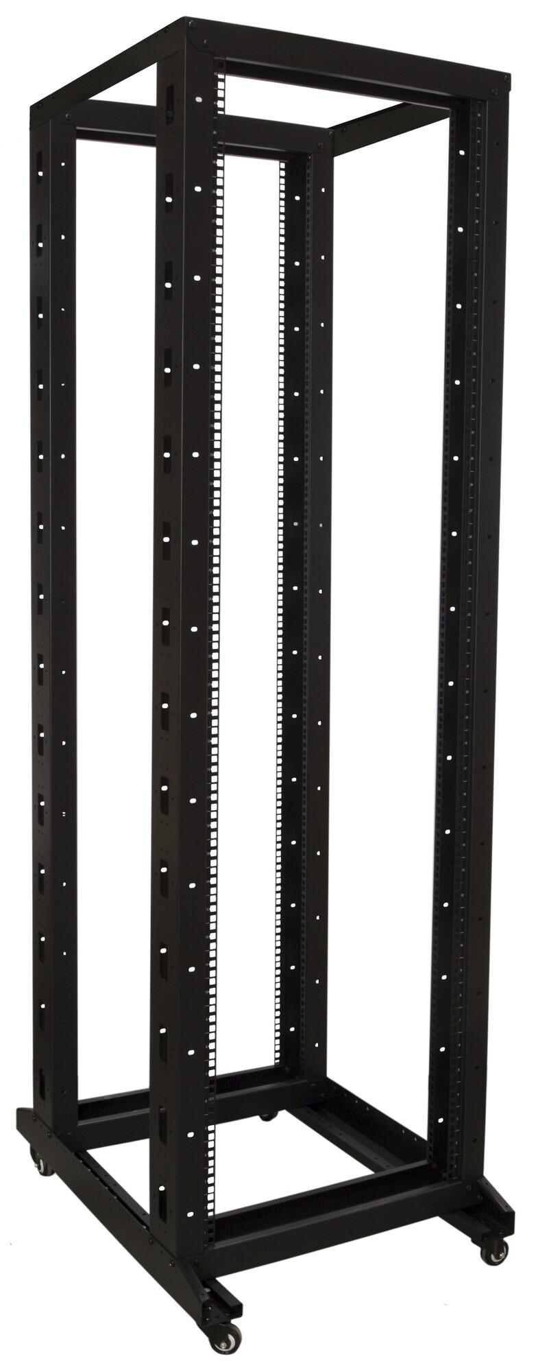 Afbeelding van 42U relay rack on castors 600x800x2000mm
