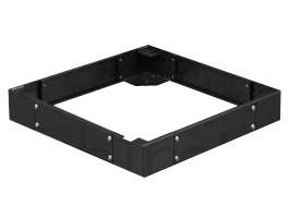 Afbeelding van 19 inch pedestal for server cabinets 600x600x100mm (WxDxH)