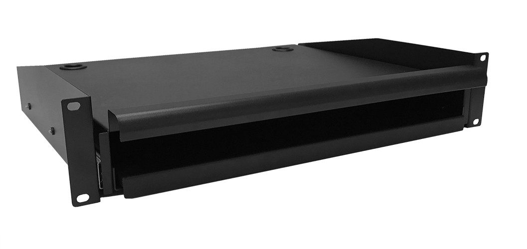 Afbeelding van Keyboard and mouse shelf for 19-inch server racks - 2U