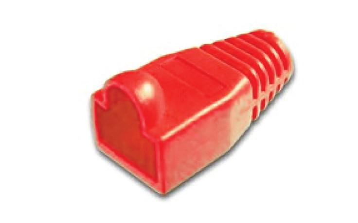 Afbeelding van RJ45 plug boot red