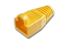 Afbeelding van RJ45 plug boot yellow