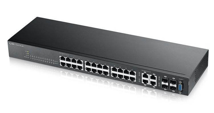 Afbeelding van Zyxel 24-ports GS2210 managed switch