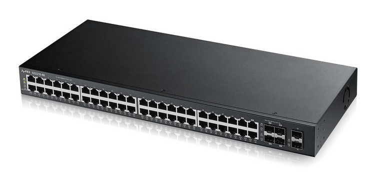 Afbeelding van Zyxel 48-ports GS2210 managed switch