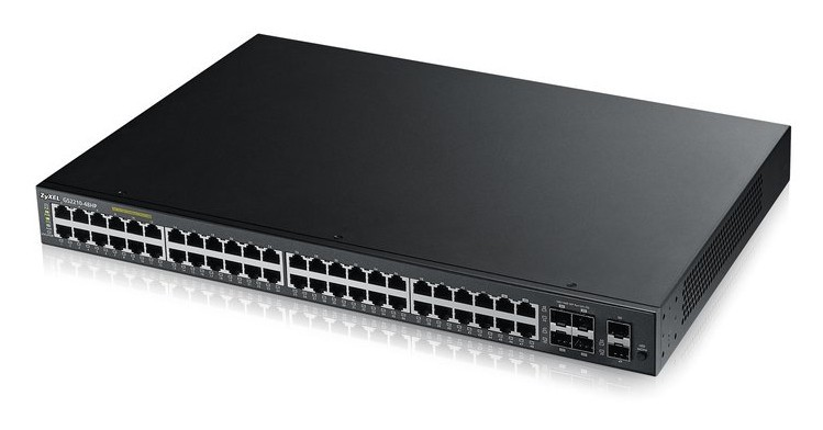 Afbeelding van Zyxel 48-ports GS2210 managed PoE+ switch