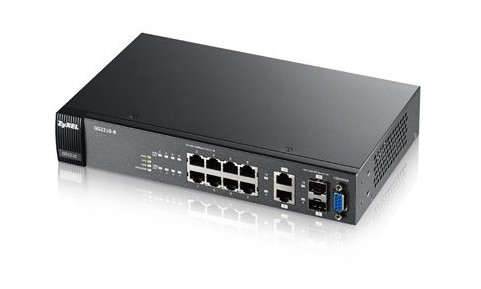 Afbeelding van Zyxel 8-ports GS2210 managed switch